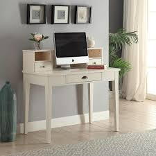 White Student Desks by South Shore Interface Pure White Student Desk 10535 The Home Depot