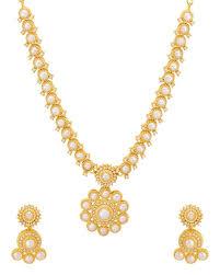 necklace design gold images Buy designer necklace sets mandala design gold plated necklace set jpg