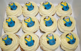 minion cupcake cake nada s cakes minions themed cupcake tower by nada s cakes canberra