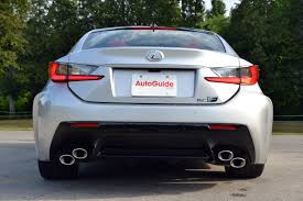 2016 lexus rc f 2016 lexus rc f review autoguide com news
