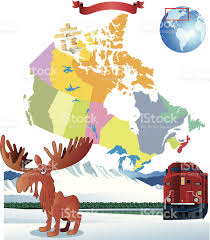Map Of Canada by Cartoon Map Of Canada Stock Vector Art 481900507 Istock