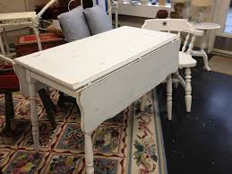 Vintage Drop Leaf Table White Painted Drop Leaf Kitchen Table Simply Vintage Of Cape Cod