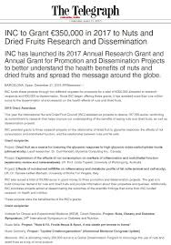 press room inc international nut and dried fruit council