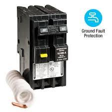 Home Depot Design Classes by Square D Homeline 50 Amp 2 Pole Gfci Circuit Breaker Hom250gficp