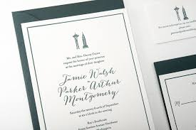wedding invitations new york new york to seattle wedding invitations pike press