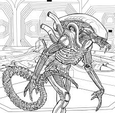 alien the coloring book color in your own xenomorph ign