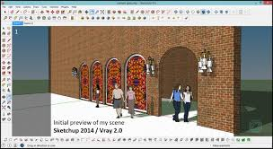stained glass tutorial in sketchup