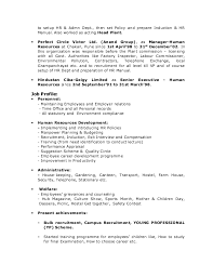 good resume for accounts manager job in chakan midc resume ras