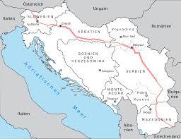 Yugoslavia Map Brotherhood And Unity Highway Wikipedia