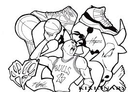 michael jordan coloring pages michael jordan coloring page within