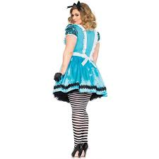 Size 4x Halloween Costumes Glass Alice Wonderland Size Halloween Costume