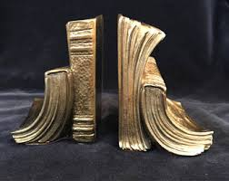 unique bookends for sale vintage bookends etsy
