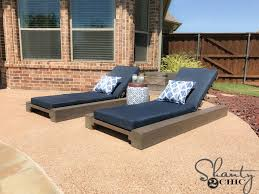 Patio Furniture Loungers Diy Outdoor Lounge Chair And How To Video Shanty 2 Chic