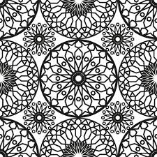 Moroccan Tile by Ornamental Round Morocco Seamless Pattern Orient Traditional