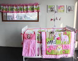 Nursery In A Bag Crib Bedding Set Jungle Crib Bedding Dominandoguitarras