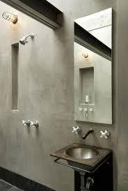 Cement Bathroom Sink - 15 bold bathroom designs with concrete walls rilane