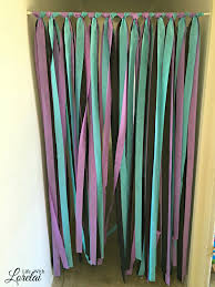 room dividers a simple diy party decor life with lorelai