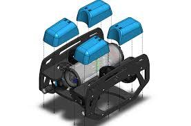 bluerov2 assembly