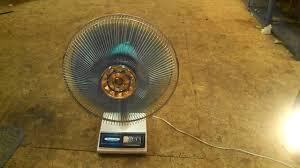 6 Inch Oscillating Desk Fan Pansonic 16