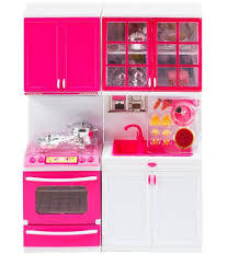 barbie pink plastic doll house easy mart