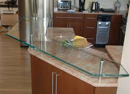 Glass Kitchen Countertops Residential Project Glass Kitchen Countertops By Glassworks