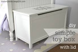 How To Make A Nightstand Out Of Wood by Ana White Simple Modern Toy Box With Lid Diy Projects