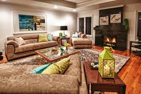Contemporary Microfiber Sofa Microfiber Couch In Living Room Contemporary With Teal Green Sofa
