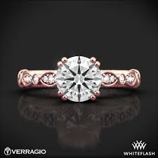 scalloped engagement ring verragio d 100 scalloped engagement ring 4617