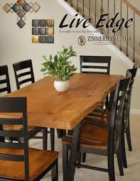 zimmerman chair shop shore casual dining furniture live edge by