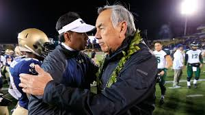 norm chow fired by hawaii after blowout loss to air force ncaa