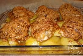 cuisiner haut de cuisse de poulet poulet grillé à la pâte d arachide et pommes de terre au four la