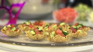 mini taco salad bowl appetizers today com