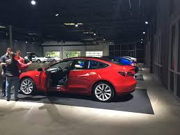 11 18 17 tesla delivery center i was told these were model 3