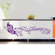 online get cheap stave music wall decal aliexpress com alibaba musical notes purple butterfly home decor wallpaper art mural wall decals pegatinas butterfly diy wall stickers
