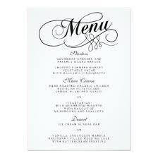 28 fancy menu template free 6 fancy menu template procedure
