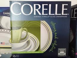 all about lifestyle corelle livingware garden sketch bands 16 pcs