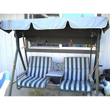 Target Patio Swing Walmart 2 Seater With Arm Rest Swing Replacement Canopy Garden Winds