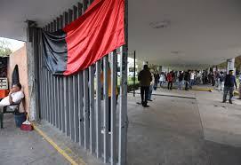 Huelga Flag Estalla Huelga De Académicos En Universidad Michoacana 29 02 2016