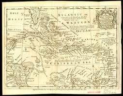 Map Of West Indies West Indies 1763 Scanned Maps Map Library Msu Libraries