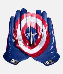 men u0027s armour alter ego captain america f4 football gloves