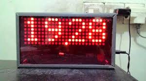 membuat jam digital led besar membuat jam digital 3 x dot matrix 8x8 24 pin dilengkapi tanggal