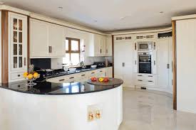black granite countertop white wooden kitchen counter sweet small