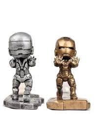 iron man cell phone desk stand cell phone holder for car magnetic ph
