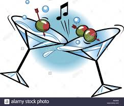 martini glasses clipart close up view of martini glasses toasting stock photo royalty