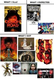 Demon Memes - demon road what i watched what i expected what i got know