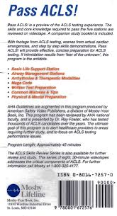 pass acls aha acls course with video preparation and review