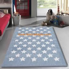 tapis de chambre enfant tapis salon 120x170cm etoile chambre vintage en acrylique