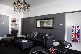 living room ideas black grey white studio warm gray colors couch