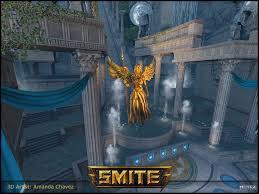 Smite Conquest Map Smite Amanda Chavez 3d Generalist