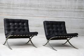 Mies Van Der Rohe Bench Vintage Barcelona Chairs By Ludwig Mies Van Der Rohe For Knoll
